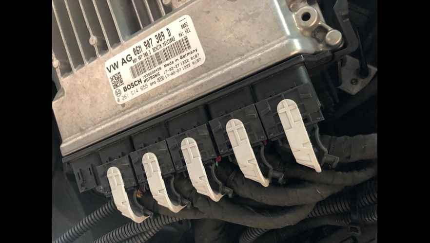 Rimappatura centralina Audi S5 con centralina Bosch MG1