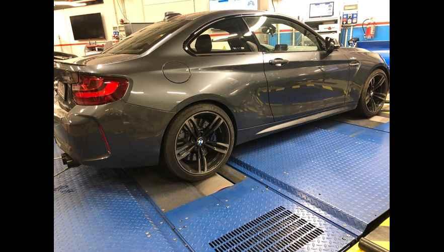 Rimappatura centralina BMW SERIE M2 235 I - 370CV