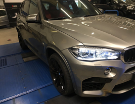 Rimappatura centralina BMW X5M 4,4 575 cv