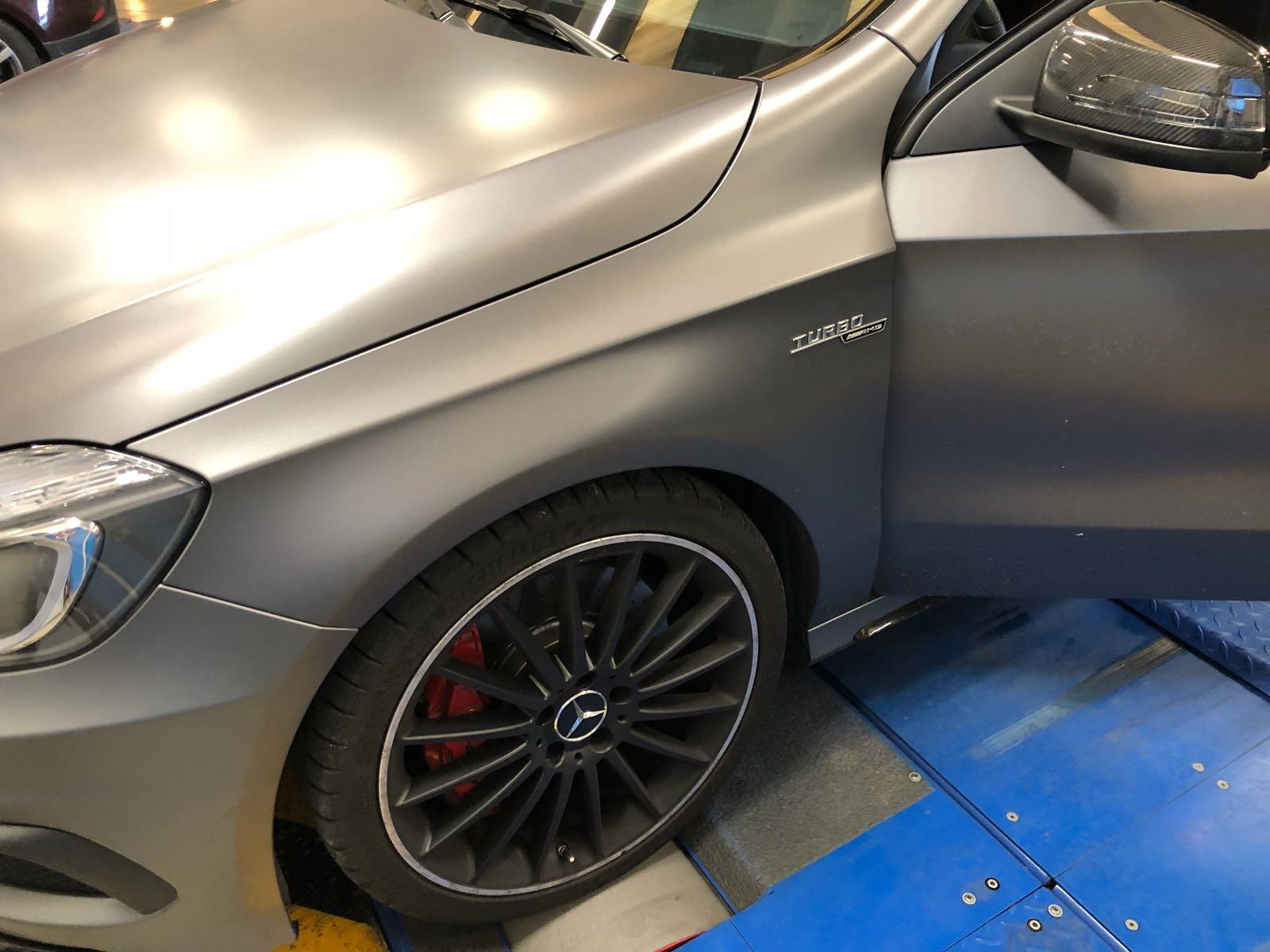 Rimappatura centralina Mercedes classe A AMG 360 CV