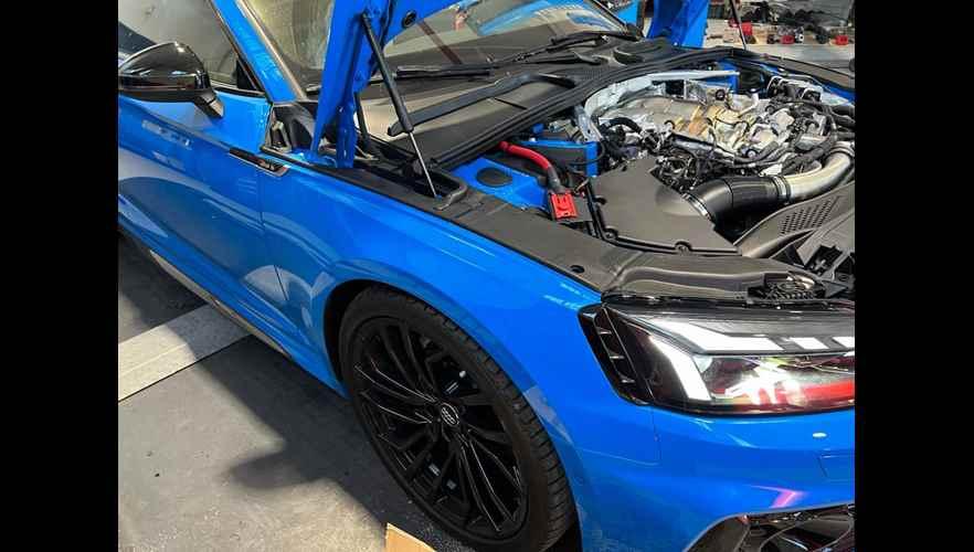 Rimappatura centralina Audi RS5 2.9 v6 tfsi 450 cv